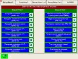 Страница диагностики. Указываются названия каждого датчика, кнопки, клапана и т.д.