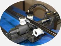 Трубогиб с ЧПУ, модель 30-TBRE | Роликовая система поддержки трубы.