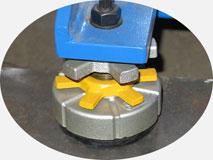 Автоматический трубогиб с ЧПУ | 38-TBRE | Вибро-опоры с регулируемой высотой.