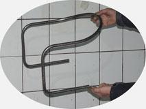 Трубогибочный станок c ЧПУ. Гибка элемента мебели на металлокаркасе.