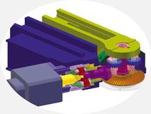 Трубогиб с ЧПУ, модель 30-TBRE | Прямая редукторная передача на гибочную консоль.