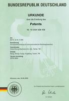 Один из 24 международных патентов